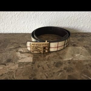 Burberry belt size 44/110